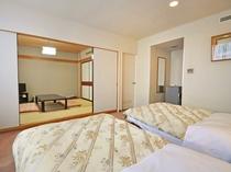 【客室:和洋室(和室6畳)】5名様までご利用できる和洋室