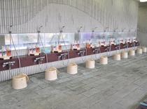 【展望大浴場】広い洗い場