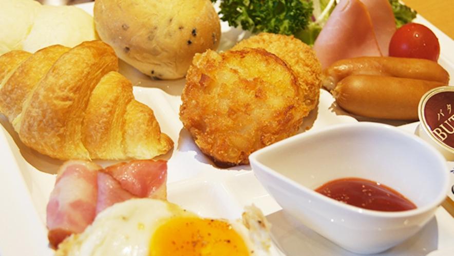 朝食バイキングメニュー<洋食>