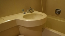 シングルルームバスルーム
