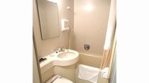 シングル・セミダブルルームバスルーム