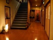 写真で見ると少し広そうに見えますが、狭いです。(階段が少し急です。)