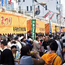 毎年10月に開催される刃物祭り(1)