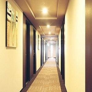 コンフォートの廊下もラグジュアリー感あふれます。