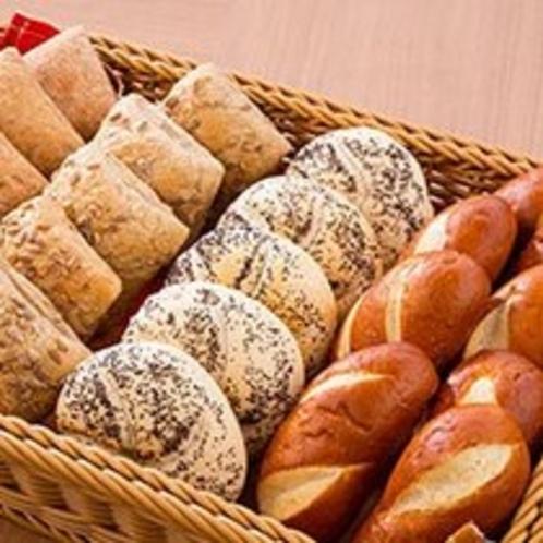 朝食のパンはヨーロッパ直輸入