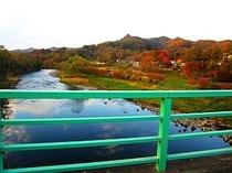 秋の馬渕川