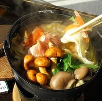 郷土料理 ひっつみ鍋