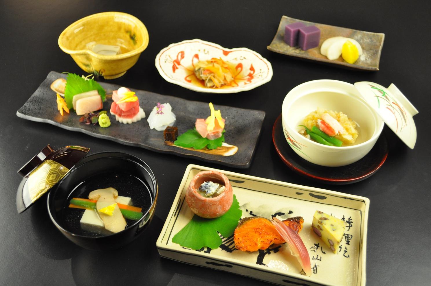 和食会席【樂〜かなで〜】 ※季節や仕入れ状況に応じて内容にはご変更がございます。