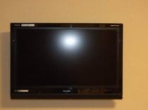 各お部屋に、薄型デジタルテレビ、地デジ、BS対応です。