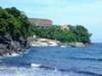 赤沢海水浴場、小さな海水浴場だけど、海は最高に綺麗でしたよ!