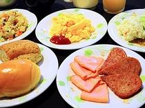 【朝食バイキング】洋食が充実しております。