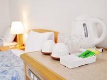 【客室イメージ】お茶セットをご用意しております。
