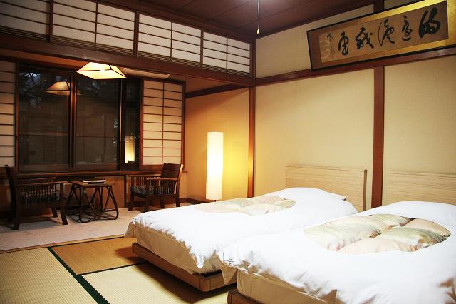 和室+ツインベッド