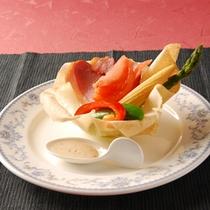*お料理一例 (前菜)
