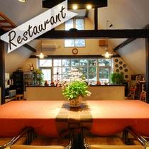 *明るい雰囲気が自慢のレストラン