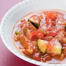 *ご朝食一例(トマトのやわらかもちもちリゾット)