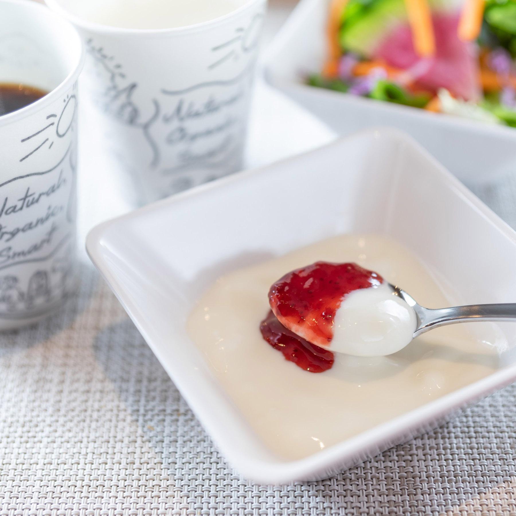 【Organic】デザートにヨーグルトをどうぞ♪