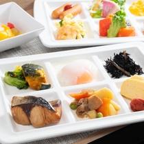 【無料健康朝食】お仕事の方でもご旅行の方も皆様でお召し上がりくださいませ♪