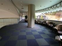 館内の風景