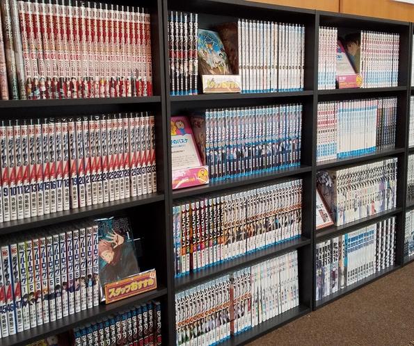 コミックの本棚