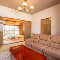 *【客室一例:蘭】3階にある広々とした、過ごしやすいお部屋です。