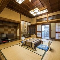 *【客室一例:梅】1階にあるゆったりとしたお部屋です。