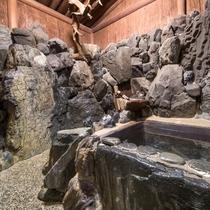 *【岩風呂】のんびり、ゆったり、お過ごし下さい…
