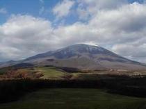 初冬の岩手山