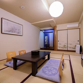 由布岳が眺望できるひのきの露天風呂付き特別室[禁煙]