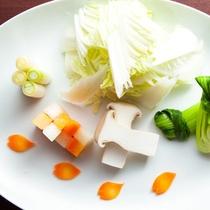 ☆豊後牛しゃぶしゃぶプラン☆【替鉢】しゃぶしゃぶ用お野菜
