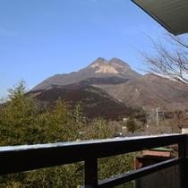 由布岳の見える展望室【洋室】  眺望