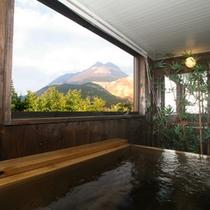 【特別室】客室専用檜風呂