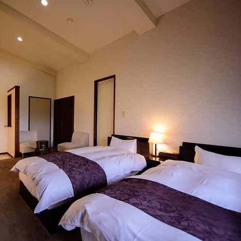 ●由布岳の見える展望室【洋室】ベッドルーム
