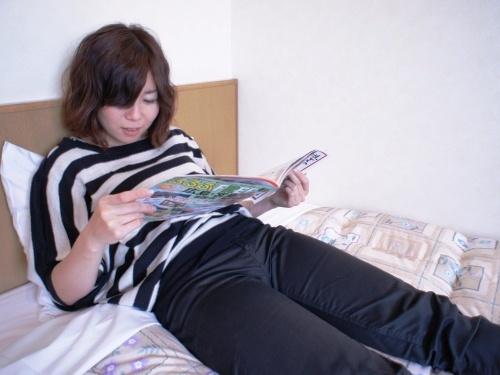 【シングルルーム】案外ゆっくりと本を読む時間ってなかったな