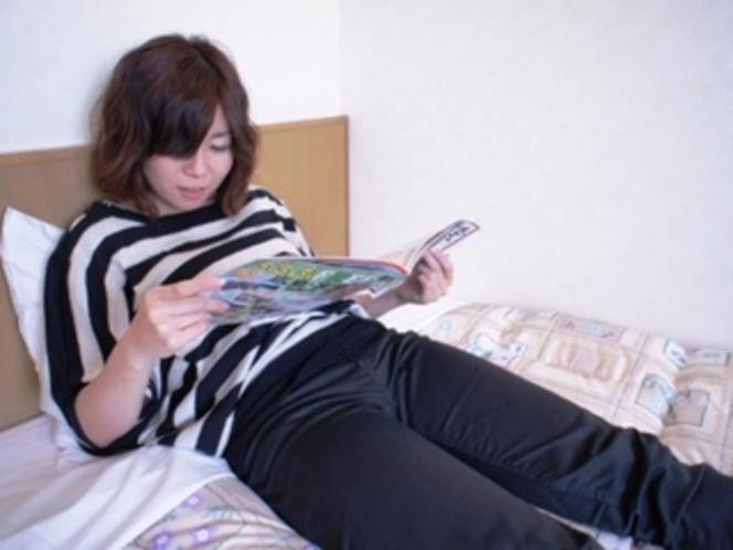 【シングルルーム】案外ゆっくりと本を読む時間ってなかったな…