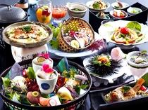美食会席『七姫』の例