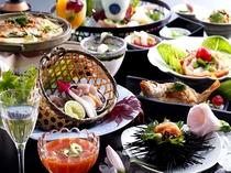 夏の美食会席七姫のイメージ