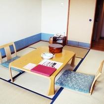 【客室】山側 ■ 和室6畳