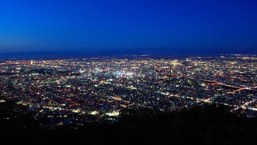 観光 日本三大夜景藻岩山