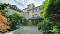 *【外観】江の島の歴史を伝える宿 岩本楼本館