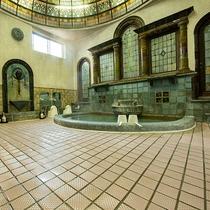 *【岩本楼ローマ風呂】国登録有形文化財に登録され、歴史的価値も高く認められています。