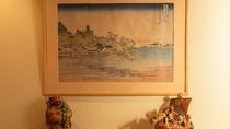 *【展示作品】江の島に関わる作品を展示しております。是非ご覧くださいませ。