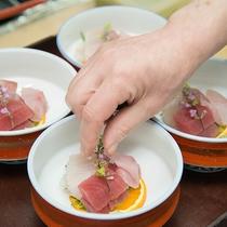 *【夕食一例】ここでしか味わえない美味極まる料理の数々をお愉しみください。