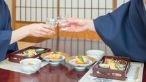 *【夕食一例】一品一品丁寧につくりあげたお食事とともに