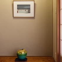 *【湘南海岸ビュー和室】展示作品一例