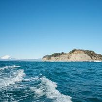 *【風景】江の島(湘南の青海原と富士の絶景ビュー)