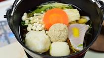 *【夕食一例】一人鍋