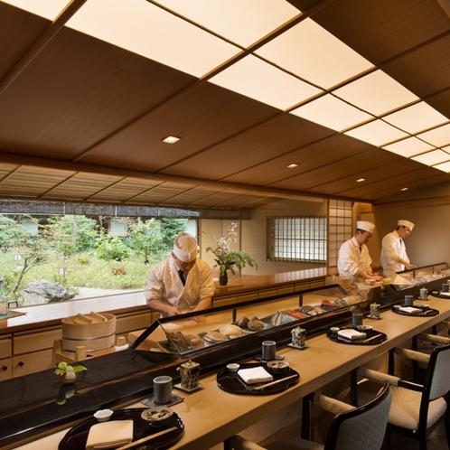 日本料理「さくら」寿司カウンター