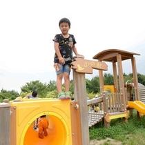 【ちびっこ広場】小さいお子様に人気の山の駅