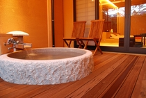 椎の木 露天風呂[一例]